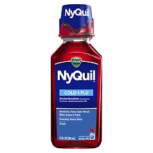 Vicks NyQuil Cold & Flu Relief Liquid Cherry