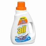 Free & Clear with Oxi-Active Laundry Detergent Liquid