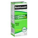 Robitussin Peak Cold Adult Cough + Chest Congestion DM Liquid
