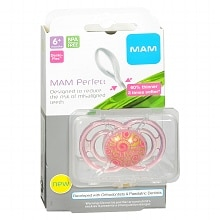 Mam Perfect Pacifier 6+ Months Girl