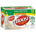 Boost High Protein Complete Nutritional Drink 12 Pack Very Vanilla