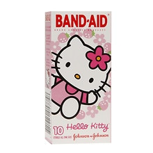 Band-Aid Adhesive Bandages All One Size Hello Kitty