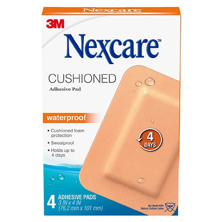 Nexcare Absolute Waterproof Adhesive Gauze Pad