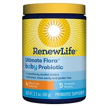 ReNew Life Flora Baby Advanced Probiotic Formula for Infants & Toddlers
