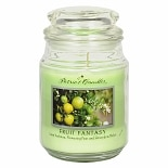 Patriot Candles Layered Jar Candle Lime Verbena Light Green