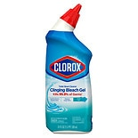 Clorox Toilet Bowl Cleaner Clinging Bleach Gel Cool Wave Scent