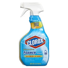 Bleach Foamer for the Bathroom