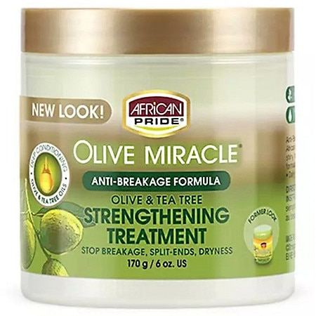African Pride Olive Miracle Anti-Breakage Formula Hair Treatment
