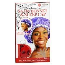 Donna Premium Collection Reversible Satin Bonnet & Sleep Cap Assorted Colors