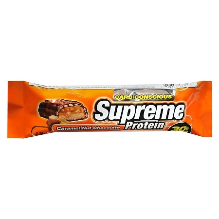 Supreme Protein Carb Conscious Protein Bar Caramel Nut Chocolate