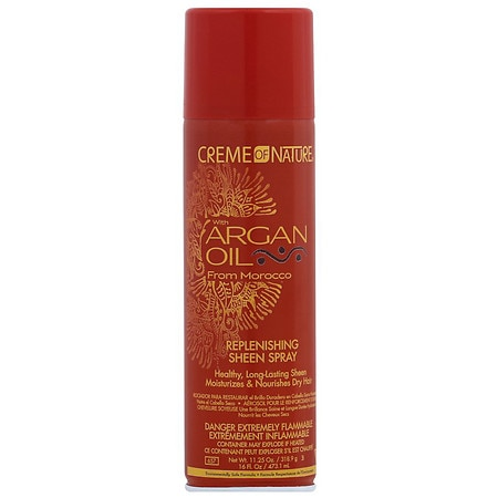 Creme Of Nature Argan Oil Replenishing Sheen Hair Spray