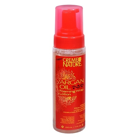 Creme Of Nature Argan Oil Foaming Wrap Hair Lotion