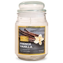 French Vanilla Jar Candle French Vanilla, Ivory