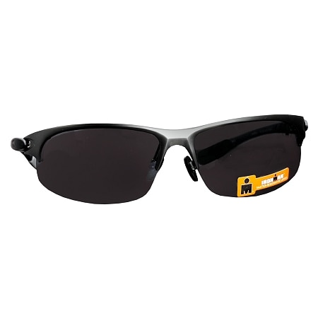 Foster Grant Ironman Plastic Sunglasses Tolerance Gray