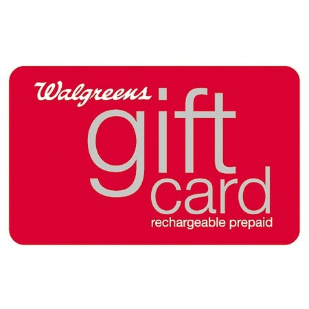 Walgreens $25 Rechargeable Gift Card