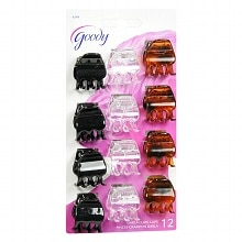 Goody Darla Claw Clips Black