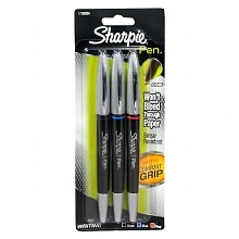 Sharpie Grip Pens Fine Point Assorted Colors