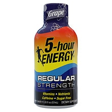 5 Hour Energy Energy Shot Grape