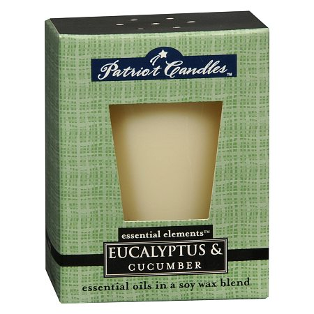 Patriot Candles Essential Elements Candle Eucalyptus & Cucumber