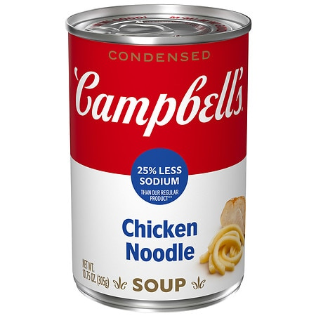 Campbell's Low Sodium Condensed Soup Chicken Noodle