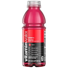 Glaceau Vitaminwater Nutrient Enhanced Beverage 20 oz Bottle Dragonfruit