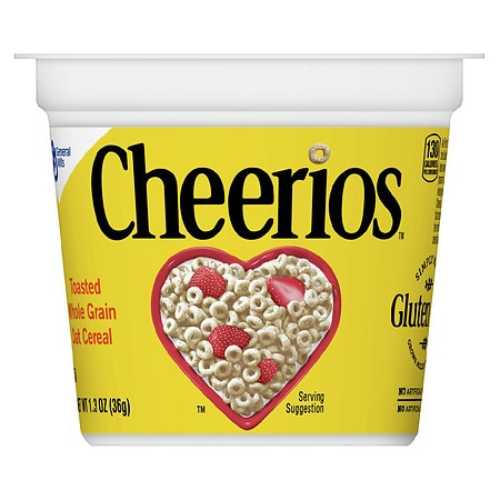 General Mills Cheerios Toasted Whole Grain Oat Cereal | Walgreens