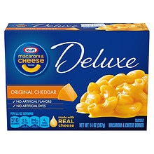 Kraft Macaroni & Cheese Dinner Deluxe