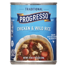Progresso Traditional Chicken and Wild Rice Soup