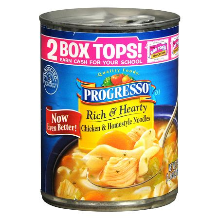 Progresso Rich & Hearty Soup Chicken & Homestyle Noodles