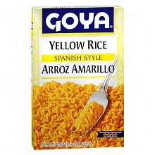 Yellow Rice Side Dish