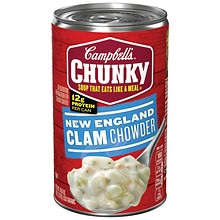 Campbell's Chunky New England Clam Chowder Soup