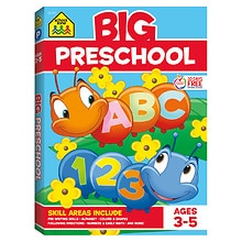 School Zone Big Preschool Workbook