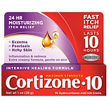 Cortizone 10 Intensive Healing Formula 1% Hydrocortisone Anti-Itch Creme Maximum Strength