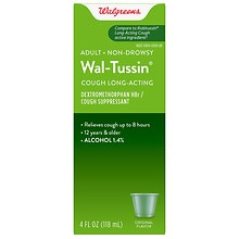 Wal-Tussin Long-Acting Cough Suppressant Liquid
