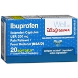 Walgreens Ibuprofen 200 mg Softgels