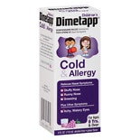 Dimetapp Children's Cold & Allergy Liquid Grape Grape Flavor