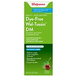 Walgreens Wal-Tussin Adult Cough & Chest Congestion DM Liquid Sugar Free Cherry & Menthol