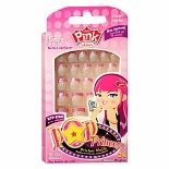 Kiss Her by Kiss Pink Pop Princess Kid Sticker Nails