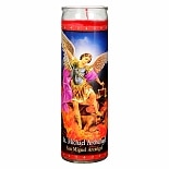 St. Jude St. Michael Archangel Prayer Candle 8.25 inch