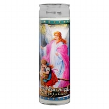 St. Jude Guardian Angel 8 inch Prayer Candle