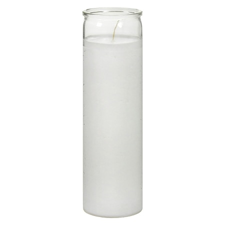 St. Jude Prayer Candle 8.25 inch White
