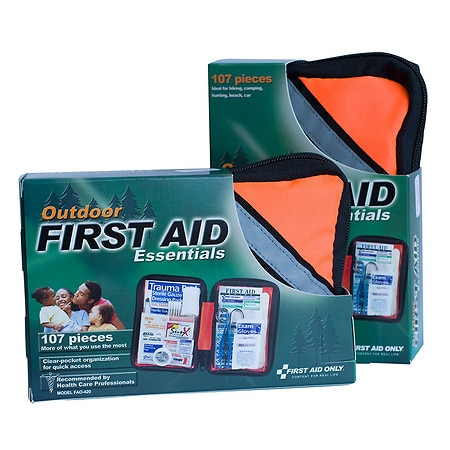 First Aid Only Outdoor First Aid Kit, Softsided, 107 Piece