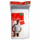 Hanes Men's Briefs Extra Large White