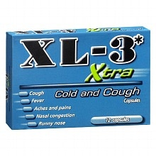 XL-3 Xtra Cold and Cough Capsules