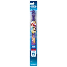 Oral-B Pro-Health Stages Disney Princess Kid's Soft Toothbrush, Ages 5-7