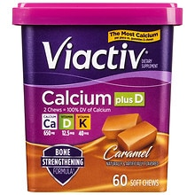Viactiv Calcium Plus D, Soft Chews Caramel