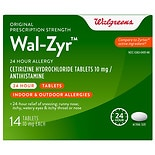 Walgreens Wal-Zyr All Day Allergy Tablets