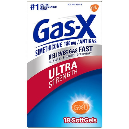 Gas-X Antigas Softgels Ultra Strength