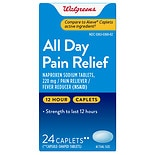 Walgreens All Day Pain Relief Caplets Caplets
