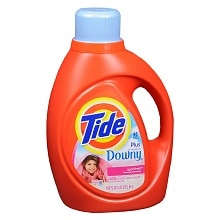 Tide Laundry Detergent Liquid plus a Touch of Downy